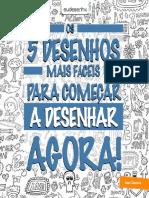 E-book 5 Desenhos Faceis