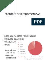 Factores de Riesgo - Colorrectal