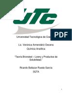 Teoría de Ácidos - Base, Escala de PH, Cálculo de PH y POH