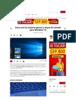 Gestos y Atajos Windows 10