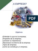 La Empresa 2-Clase 01
