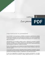 Cap 3. Los Proveedores Administracion de Compras Alberto Montoya Palacio