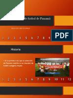 Presentación selección de Panama