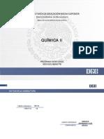 programa  de QUÍMICA II bachillerato