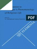 Companion to Heideggers Phenomenology of Religio