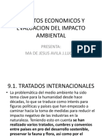 Aspectos Economicos y Evaluacion Del Impacto Ambiental