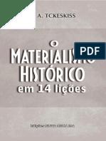 O Materialismo Histórico Em 14 Lições- L.a. Tckeskiss