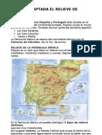 RESUMEN UNIDAD 6 OMERIQUE EL RELIEVE Y PAISAJES DE ESPAÑA
