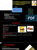 Marketing Mix de Galletas Morocha