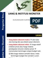 Pie Uang Dan Institusi Moneter