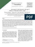 Metabolic Improvement of Male Prisoners With Type 2 Diabetes in Fukushima Prison, Japan