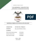Dop Empresa Chocolate