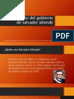 3er Año de Allende