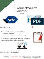 03 - Administração Em Marketing - Aula 03