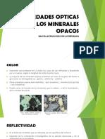 PROPIEDADES OPTICAS DE LOS MINERALES OPACOS.pptx