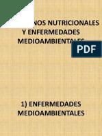 Trastornos Nutricionales y Enfermedades Medioambientales