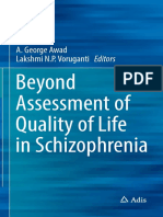 A. George Awad Lakshmi N.P. Voruganti Eds. Beyond Assessment of Quality of Life in Schizophrenia ADIS 2016