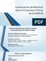 Práctica Caraterización 2018-I