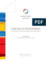 A New Age of Protectionism? The Economic Crisis and Transatlantic Trade Policy