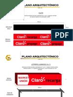Plano Letreros Huaraz