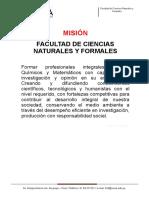 Mision y Vision FCNF (1)