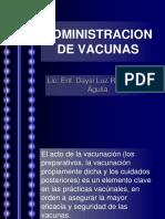 Administracion de Vacunas