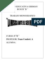 Unidad Educativa German Busch Zabdi