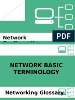 Networking Terminologies