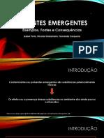 Seminário Poluentes Emergentes 2S2017