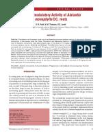 Immunomodulatory Activity