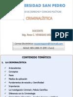 1ra. Sesion - Criminalistica - Historia-Alumnos