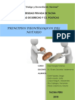 Principios Deontologicos Del Notario