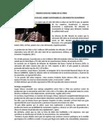 Produccion de Cobre en El Peru