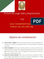 T10. Activos y Depreciación
