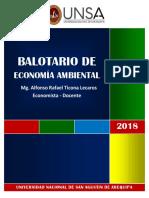 Balotario I de Economía Ambiental