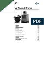 Acuson Aspen - Installing An Acuson® System