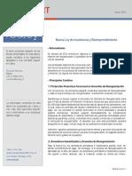 Ecitydoc.com Ley de Insolvencia y Reemprendimiento