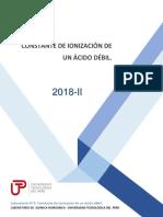 GUÍA N°3 CONSTANTE DE IONIZACIÓN DE ÁCIDO DÉBIL (1)