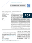 An Additive Manufacturing Oriented Design Approach to Mechanical Assemblies