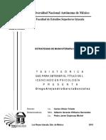 Estrategias de Musicoterapia Humanista UNAM