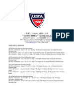 USTA National 2011 Tournaments