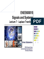 Microsoft PowerPoint - Lecture 7 - Laplace Transform Rev 25.03.2014