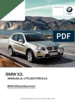 Manual Utilizator X3 Cu IDrive(1)