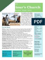 st saviours newsletter - 3 june 2018