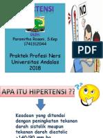 Presentationppt hipertensi mitha