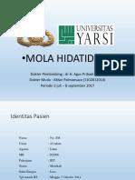 AKBAR P - MOLA HIDATIDOSA.pptx