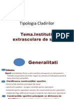 Tipologia Cladirilor