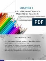 CHAPTER 1_Introduction to Physico-Chemico Wastewater Treatment