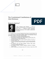 The Constitutional Contributions of John Dickinson