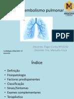 Tromboembolismo pulmonar.pptx